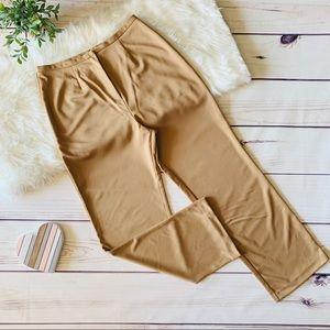 Pants - Tan Bootcut Dress Slacks